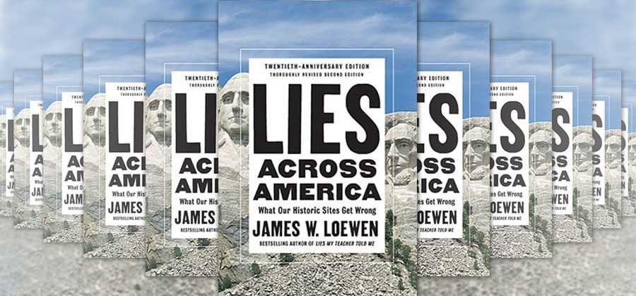 Lies Across America book cover collage